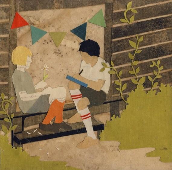 Threads the Heart - Giclee Art Print