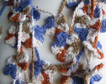 Lariat, scarf, new,crochet, handmade, Turkishteam