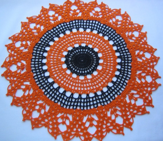 Crochet  doily, new, handmade by Demet
