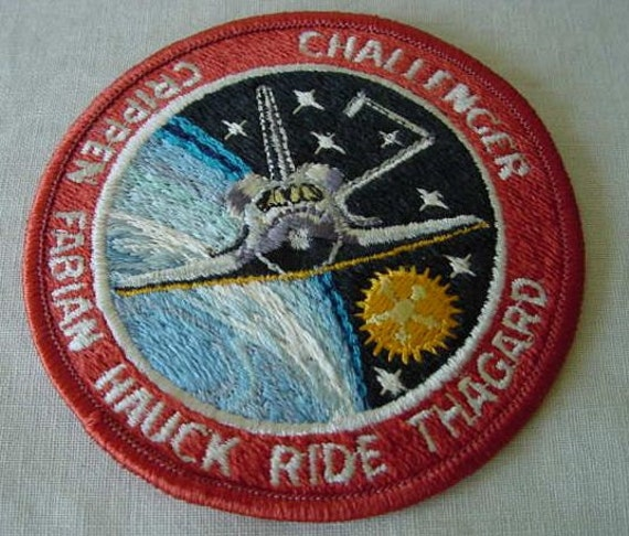 sally ride nasa name patch - photo #7