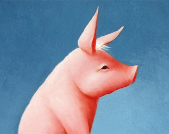 Pig note card 3 pack