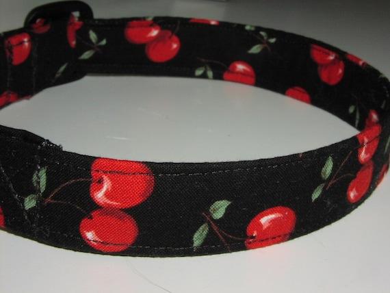 Dog Collar - Cherry Pie