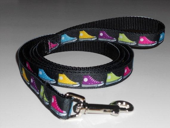 Dog Leash - Multi-colored Sneakers