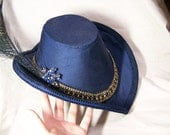 OOAK handmade elizabethan renaissance arch brim hat CUSTOM MADE in your colors