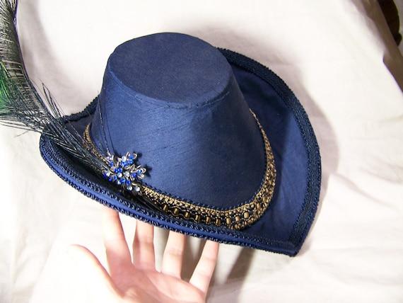 OOAK handmade elizabethan renaissance arch brim hat CUSTOM MADE in your colors