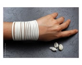 BUZIOS - White Specialty Leather Bracelet