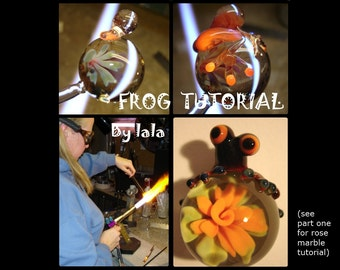 Frog Tutorial by lalaland glass