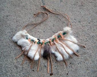 Native American fur necklace