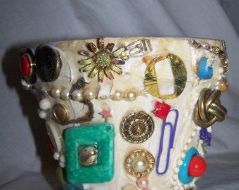 jewelry clay pot