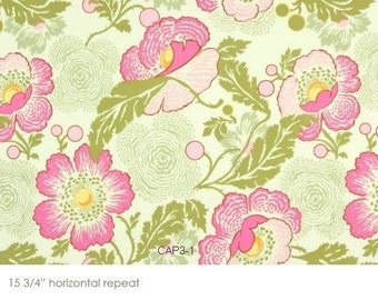 Amy Butler Fresh Poppies in Fushia 1 Yard
