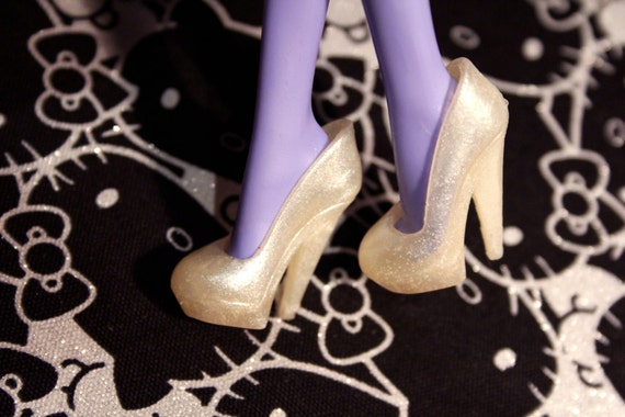 Monster High Pearl Shimmer Stiletto heeled shoes