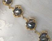 SOLD OUT Pearl Bracelet, Mabe Pearl Bracelet,Black Pearl Bracelet,Baroque Pearls, Wedding Jewelry,Pearl Jewelry, Designs B8115