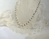 SALE Graduated Pearl Necklace,Akoya Japanese Sea Pearl Choker Natural Emerald Gemstone Luxury Classic Pearls,Unique Wedding Necklace