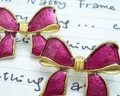 Lovely Girl Bow Earrings