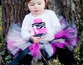 Rock Star SEWN Tutu--Ready to Ship Size 6-18 months