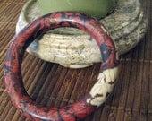 Polymer Clay Mokume Gane Bangle
