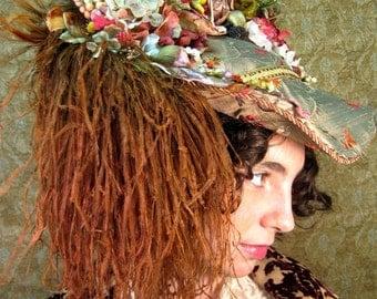 Late Victorian Pinchback Hat