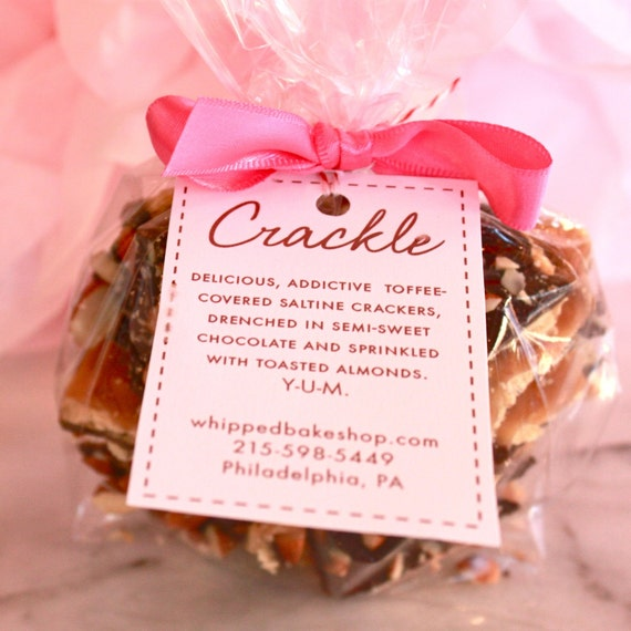 Almond Toffee Crackle