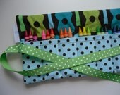 PDF ePattern - Make Your Own Crayon Roll - Fabric Kit Available