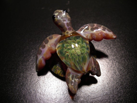 Sea Turtle Sculpture Paperweight Art