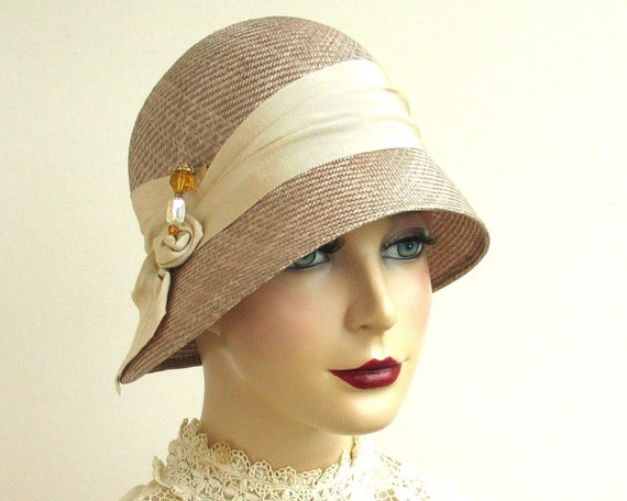 Items similar to Cloche Hat Women's Spring Fashion Spring ...