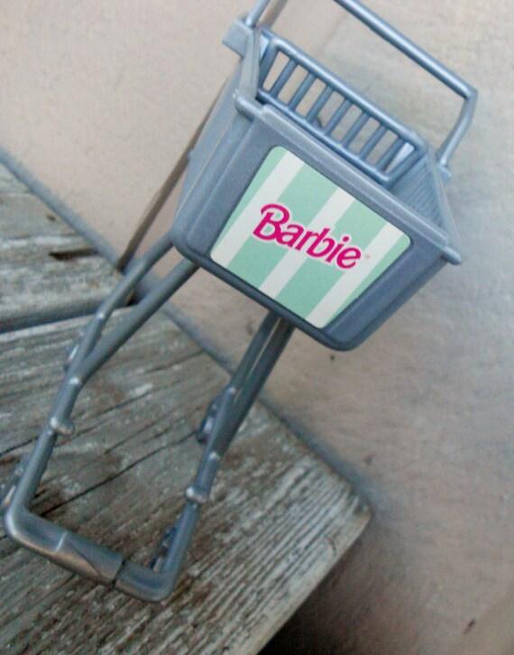Barbie Shopping Cart
