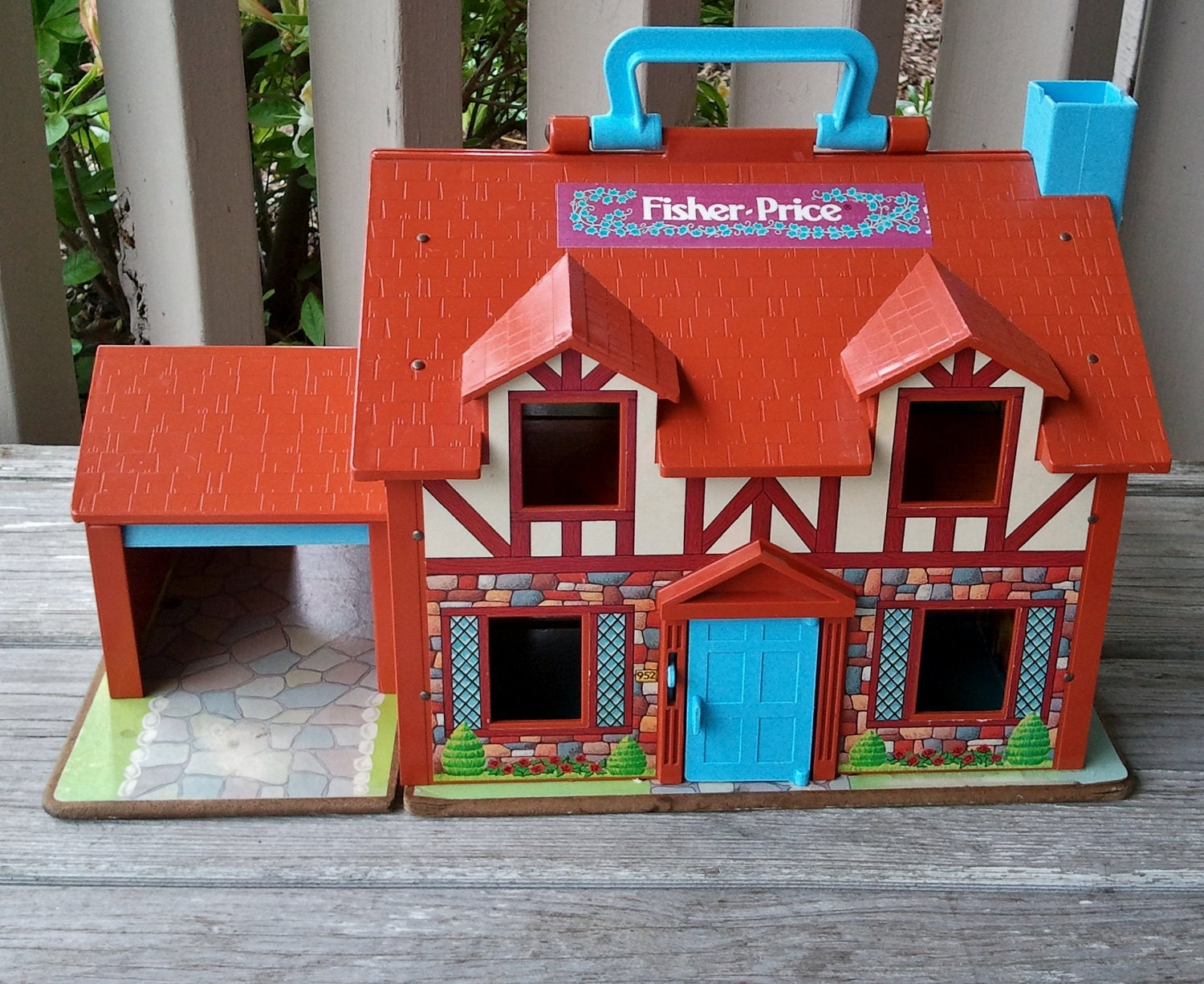 Fisher Price English Tudor Playhouse By Myrobynsnestboutique