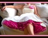 Thick Matte Ribbon Petticoat - many colors available
