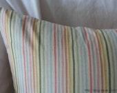 Crayon Stripe Pattern Linen Pillow Case(Cover, Slip)