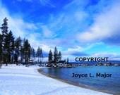 "Photo - ""Sand Harbor Winter"""