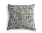 Needlepoint cushion cover / chiyogami GREEN
