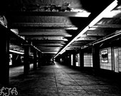 Me and Him NYC Subway - New York 10x15 fine art photograph