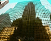 Reflection of Chrysler Building - New York  10x15 fine art photograph