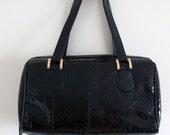 Vintage Python Snake Skin Purse Bag ASPECRS