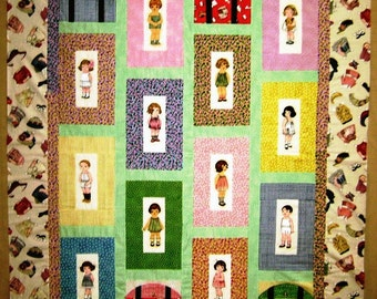Quilt Kit Paper Dolls Bakery Free Pattern By Siblingarts