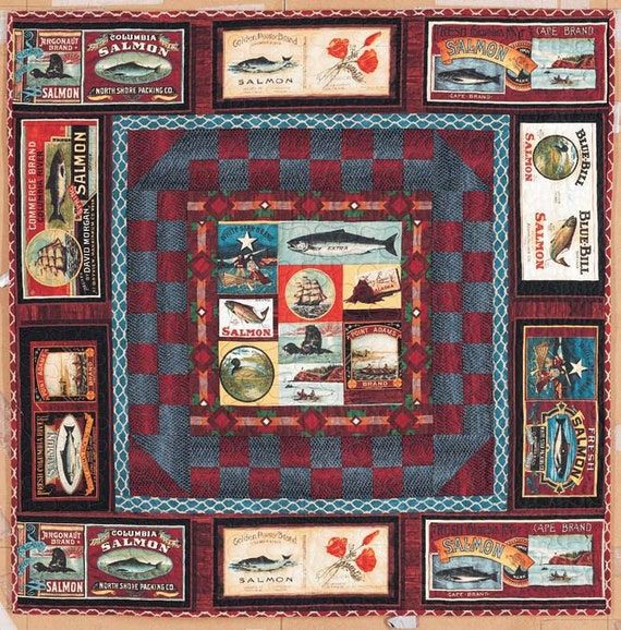 Last One Fons And Porter Salmon Run Quilt Kit By Siblingarts