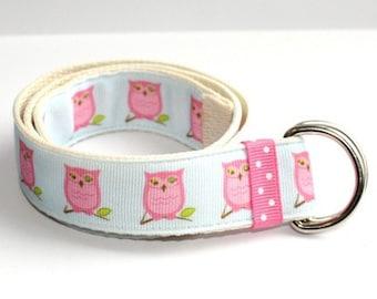 Owl Toddler/Baby Belt