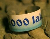10,000 Lakes License Plate Cuff