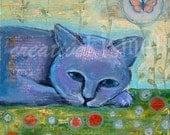 Day Dreaming - 8 x 8 ART PRINT