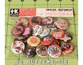 20 Button Fun Pack
