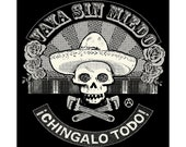 Go WIthout Fear / Vaya Sin Miedo T-shirt Available in Sizes Small - XL
