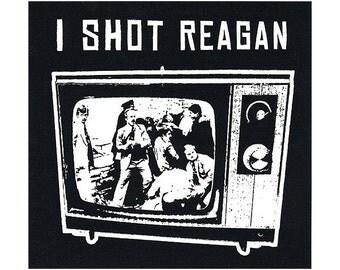 I Shot Reagan Sticker