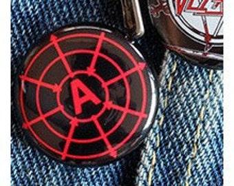 BAKUNIN THEORY 1 inch button