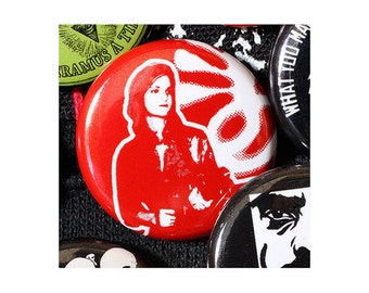 Patty Hearst SLA 1 Inch (2.54 cm) Button