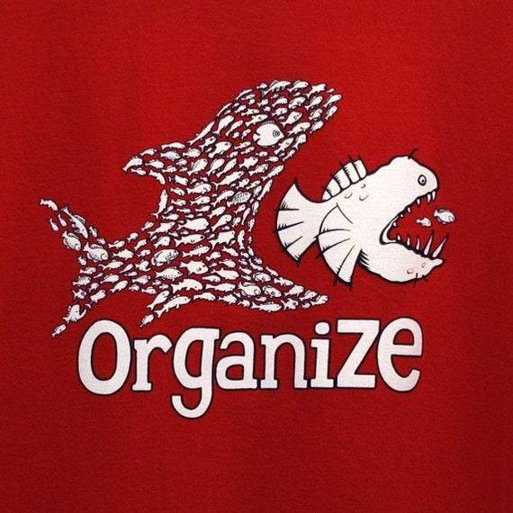 SALE 10 BUCKS Organize Tshirt Available in XXLarge - Ready To Ship