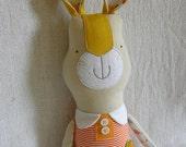 Linen bunny girl