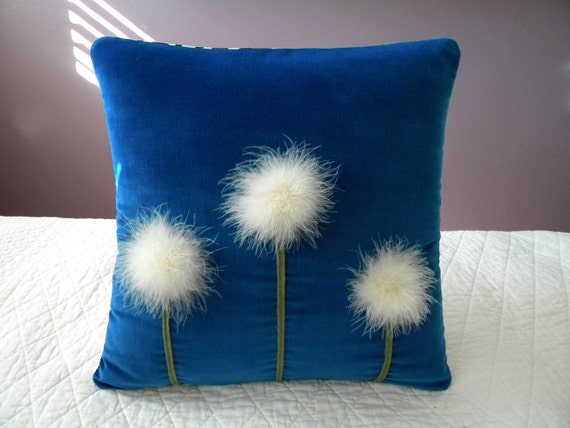 Dandelions pillow cover