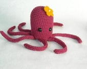 Octopus with Flower