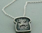Burnt Toast Necklace