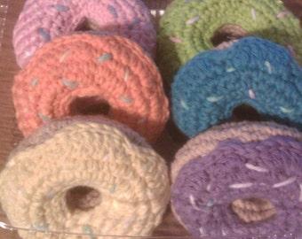 Crochet Donuts Pattern PDF file